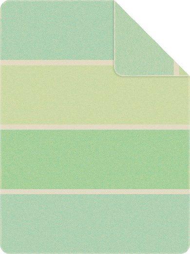 Wohndecke »Jacquard Kano«, IBENA, mit Blockstreifen