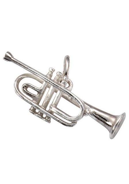 Firetti Kettenanhänger »Trompete, glanzvoll, rhodiniert und massiv« | Schmuck > Halsketten > Ketten ohne Anhänger | Firetti