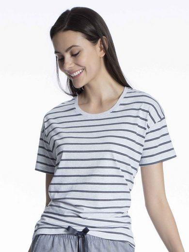 Schiesser Kurzarmshirt »Oversize Kurzarm-Shirt« (1-tlg)