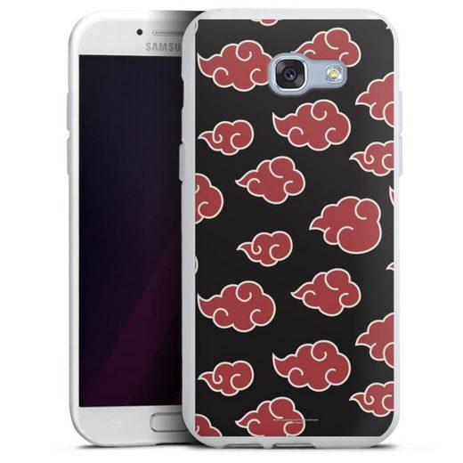 DeinDesign Handyhülle »Akatsuki Pattern« Samsung Galaxy A5 (2017), Hülle Offizielles Lizenzprodukt Naruto Shippuden Akatsuki
