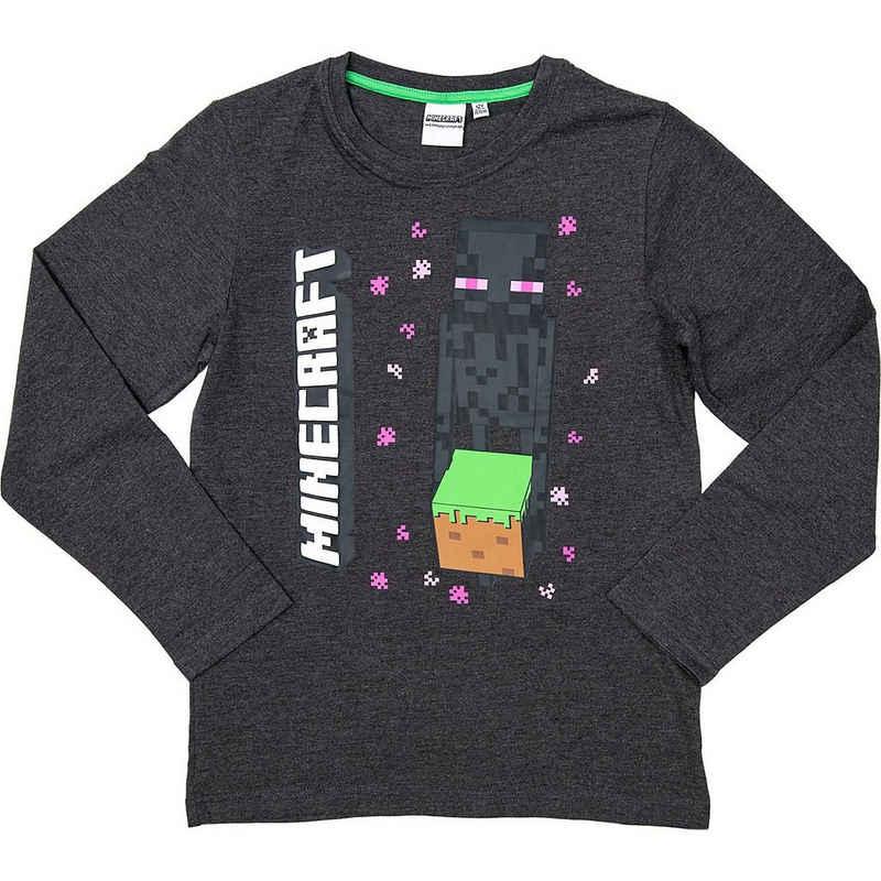 Minecraft Sweatshirt »Sweatshirt Enderman Drops gray 152cm«
