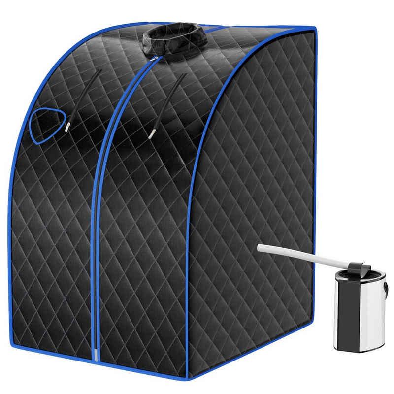 COSTWAY Sauna »3L Mini Dampfsauna«, mit Fernbedienung & Zerstäubungsfunktion
