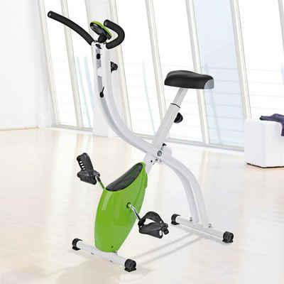 VITALmaxx Heimtrainer »Fitness Bike limegreen«, Fitness Bike