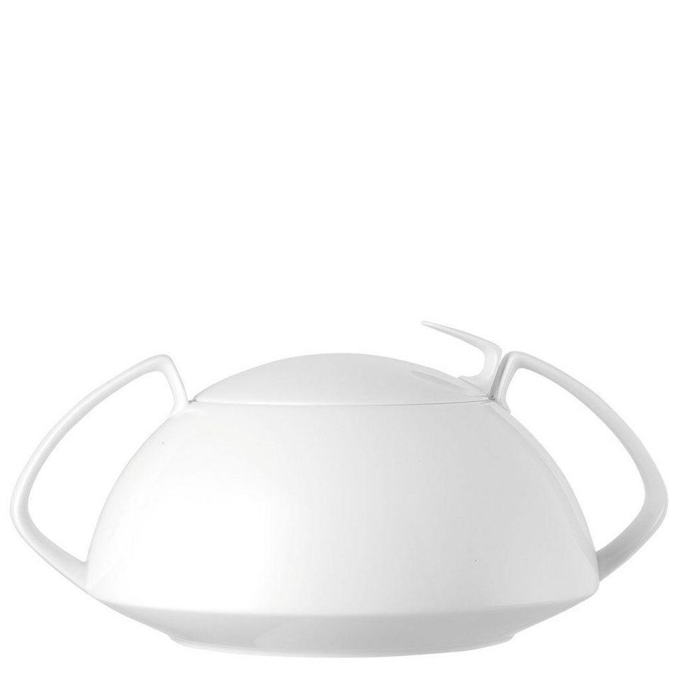 Rosenthal Suppenschüssel »TAC Gropius Weiß Terrine«, Porzellan