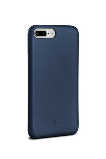 Twelve South Smartphone-Hülle »Twelve South Relaxed Leather Clip for iPhone Plus 8+, 7+, 6+/6s+ - indigo«