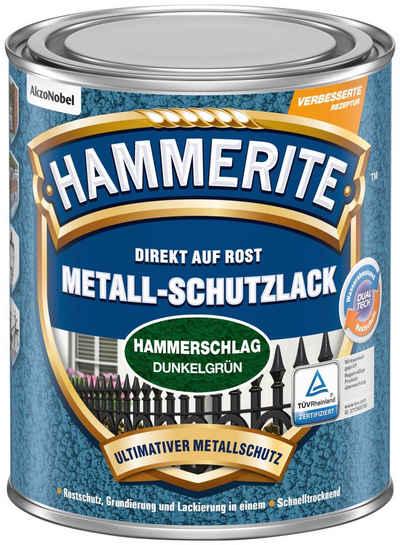 Hammerite Metallschutzlack »Hammerschlag«, 0,75 Liter, grün