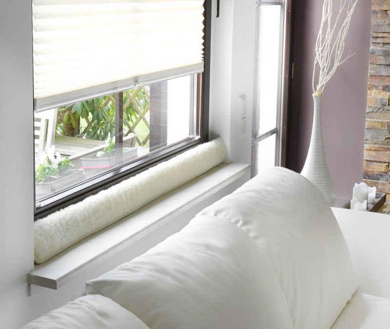 BigDean Zugluftstopper »100cm für Fenster Schurwolle Natur Beige«