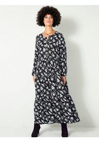 Angel of Style Ilga suknelė su Knopfleiste