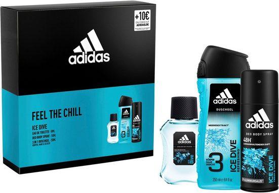 adidas Performance Duft-Set »Ice Dive«, 3-tlg.