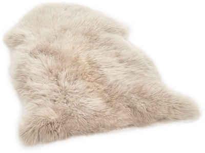 Fellteppich »Shaun«, THEKO, fellförmig, Höhe 70 mm, echtes Lammfell, Wohnzimmer