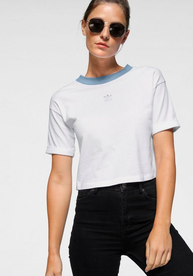 adidas originals -  T-Shirt »CROP TOP«