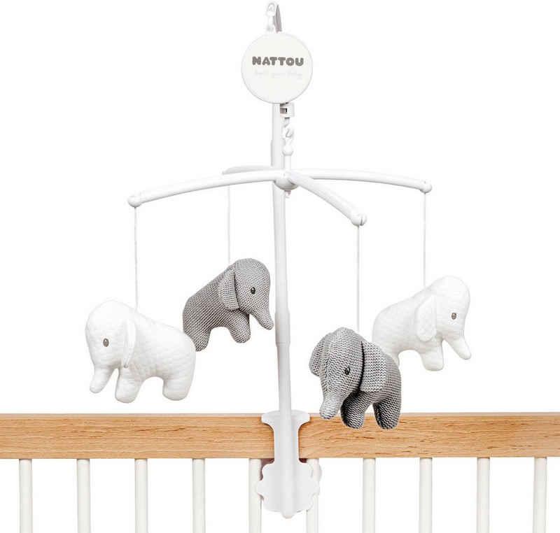 Nattou Mobile »Elefant«, mit Melodie