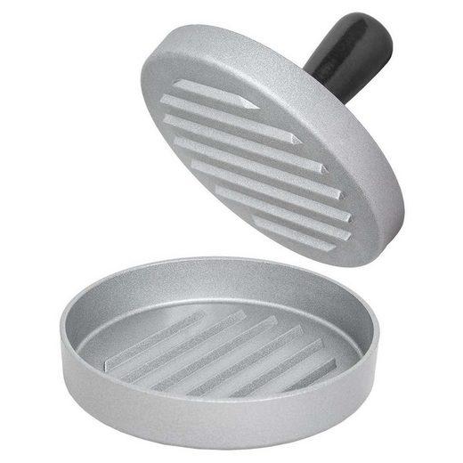 tectake Burgerpresse Burgerpresse einzeln, Aluminiumguss