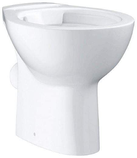 GROHE Stand-WC »Bau Keramik«, spülrandlos