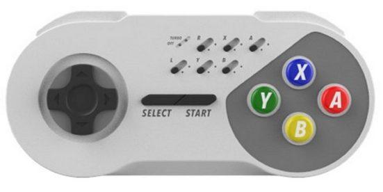 Subsonic »SNES Super Nintendo Schnurloser Controller« Nintendo-Controller