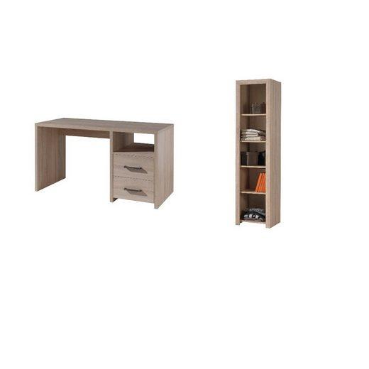 Kindermöbel 24 Jugendzimmer-Set »Kinderzimmer Hollis Vipack inkl Schreibtisch + Regal«