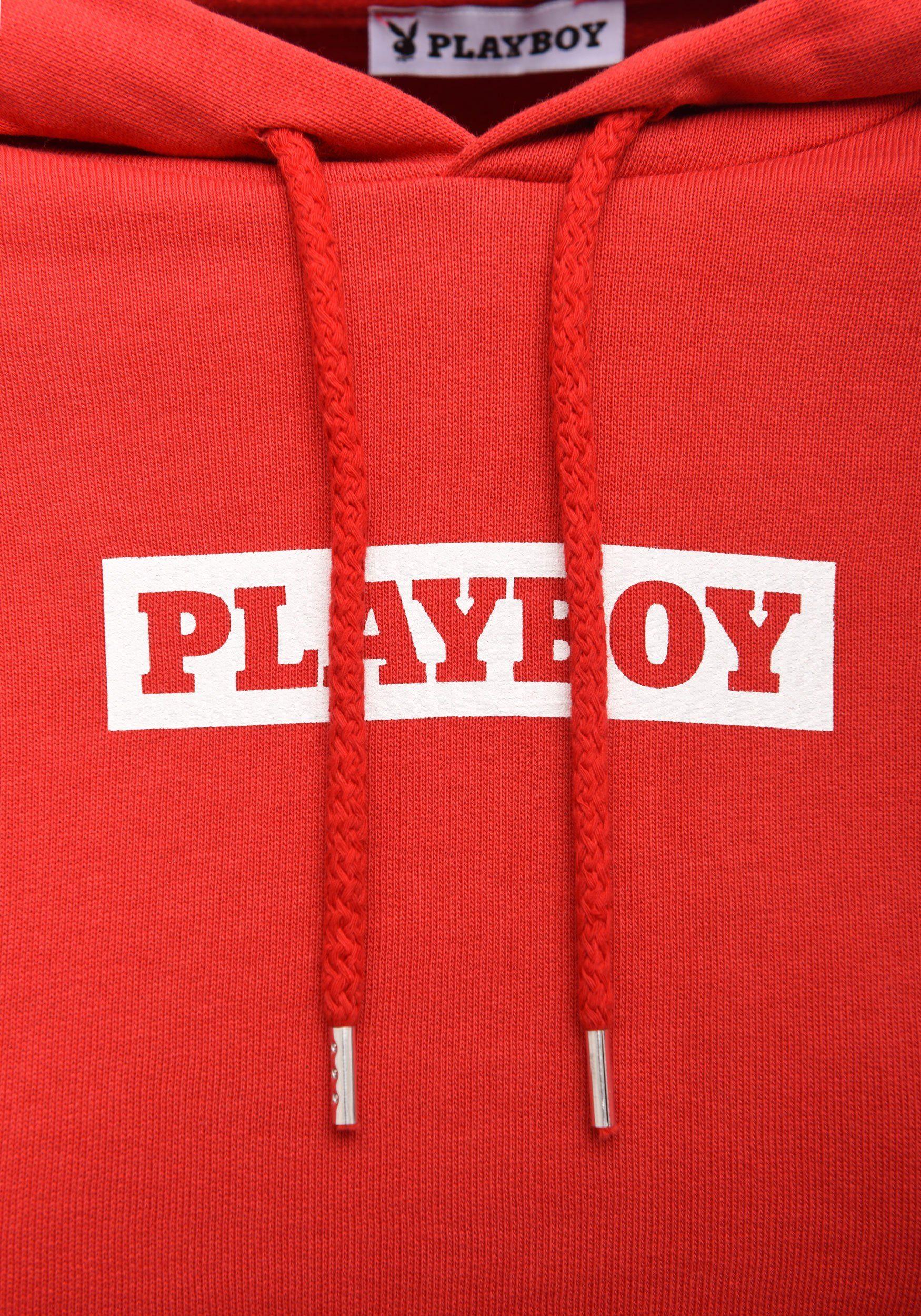 PLAYBOY Kapuzenpullover in Cropped-Passform kaufen
