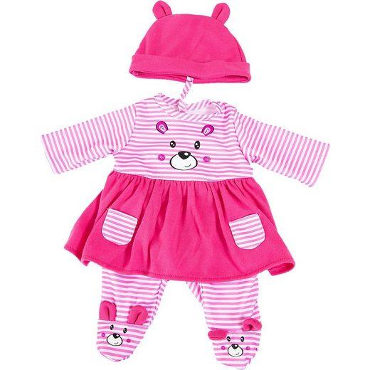 Bayer Puppenkleidung »Kleider für Puppen 33-38 cm: 3-tlg. - Kleid, Hose,«