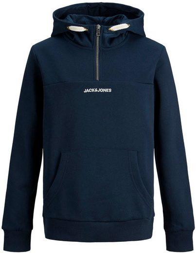 Jack & Jones Junior Kapuzensweatshirt »JORRATIC SWEAT HALF ZIP«