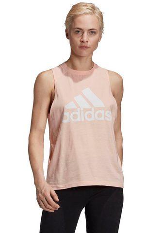 adidas Performance Marškinėliai be rankovių »BADGE OF SPO...