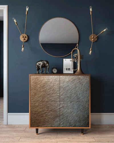 Places of Style Sideboard »Peanuts Hair«, mit dekorativen Print auf den Türen