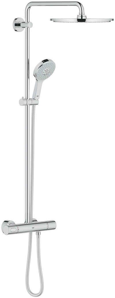 Grohe Duschsystem »Rainshower System 310«, Höhe 113 cm, Set, mit Thermostatbatterie für die Wandmontage
