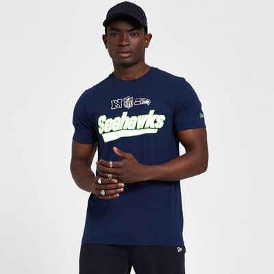 New Era Print-Shirt »New Era NFL SEATTLE SEAHAWKS Wordmark Tee T-Shirt«
