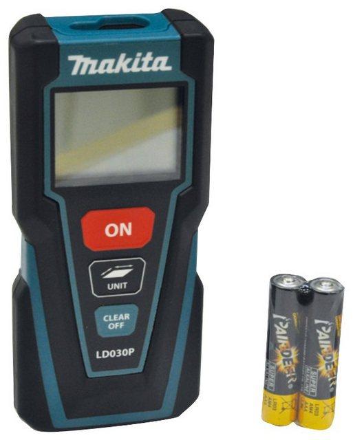 Makita Entfernungsmesser LD030P , Messbereich 30m