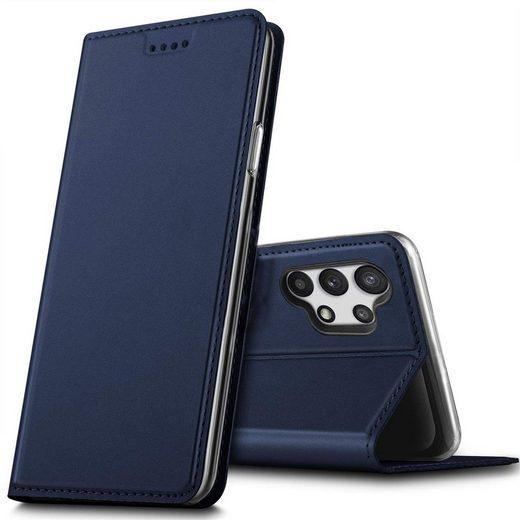 CoolGadget Handyhülle »Magnet Case Handy Tasche« für Samsung Galaxy A32 5G 6,5 Zoll, Hülle Klapphülle Slim Flip Cover für Samsung A32 5G Schutzhülle