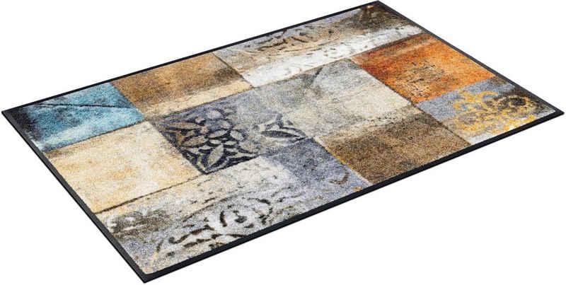 Fußmatte »Tilea«, wash+dry by Kleen-Tex, rechteckig, Höhe 7 mm, waschbar