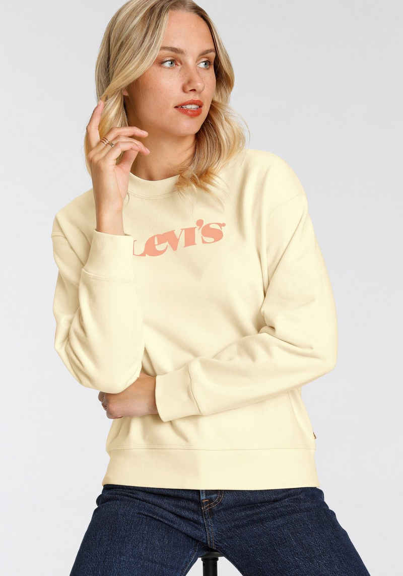 Levi's® Sweatshirt »Graphic Standard Crew« mit Logo-Print