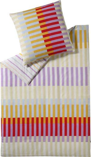 Wendebettwäsche »Staves«, Esprit, mit farbenfrohen Streifen