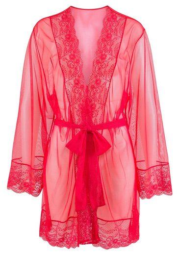 Kimono, LASCANA, mit edler Spitze