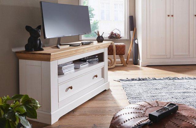 TV Möbel - Premium collection by Home affaire TV Board »Kim«, aus Massivholz  - Onlineshop OTTO