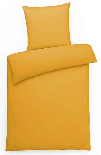 Bettwäsche »Hochwertige Mako-Satin Bettgarnitur, aus 100% Baumwolle, schlichtes Design, uni«, Carpe Sonno, Hochwertige Mako Satin Bettwäsche, Bettgarnitur in vielen tollen Unifarben, Ganzjahresbettwäsche, angenehm kühl Bett-Wäsche, weich auf der Haut, edler Bettbezug für hohen Schlafkomfort