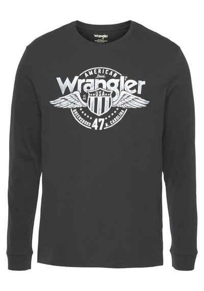 Wrangler Langarmshirt »Americana«