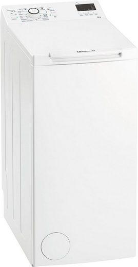 BAUKNECHT Waschmaschine Toplader WAT PRIME 652 DI N, 6 kg, 1200 U/min