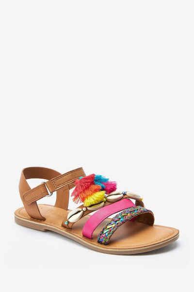 Next »Sandalen mit Muschelbesatz« Sandale (1-tlg)