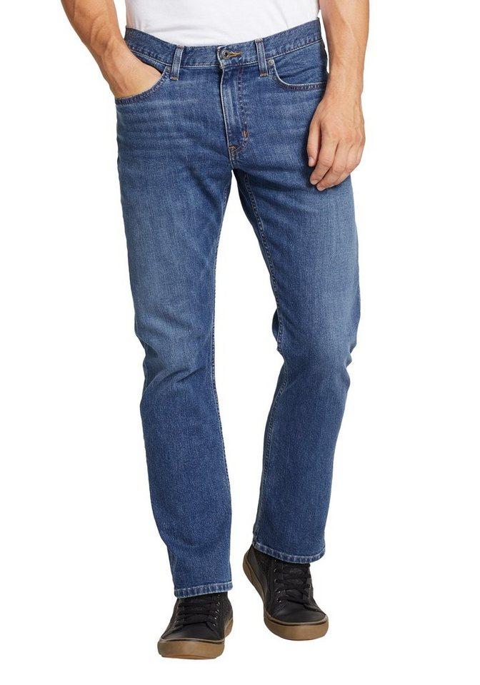 eddie bauer -  5-Pocket-Jeans Flex - Straight Fit