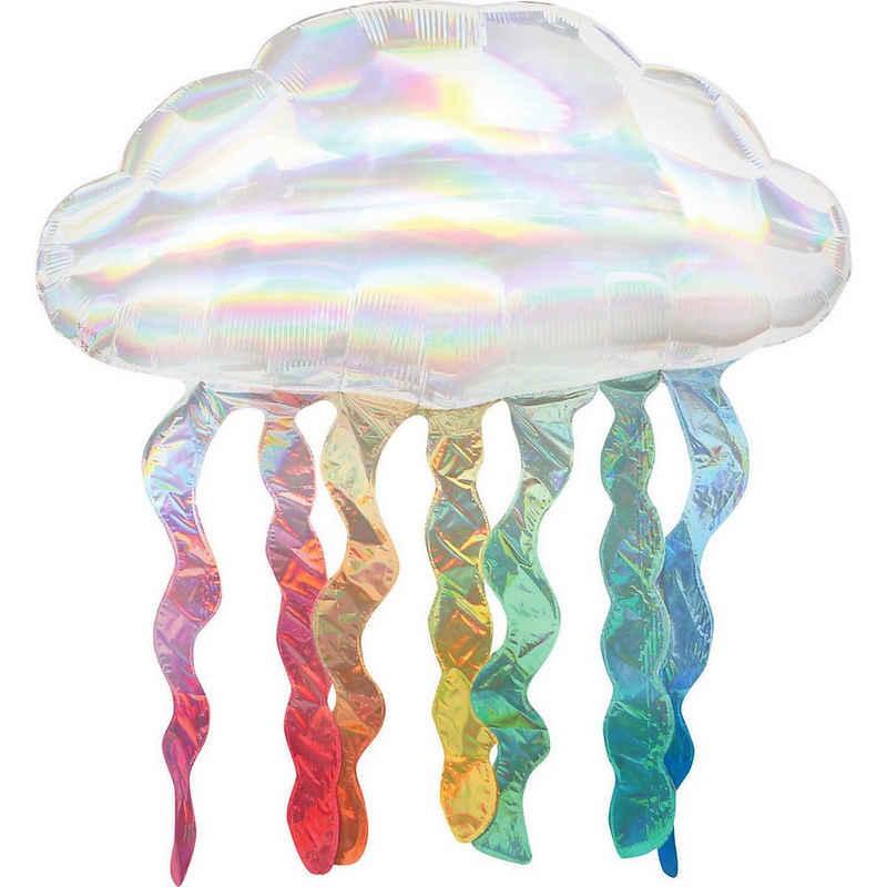 Amscan Folienballon »Supershape Holo-Folienballon Wolke mit«