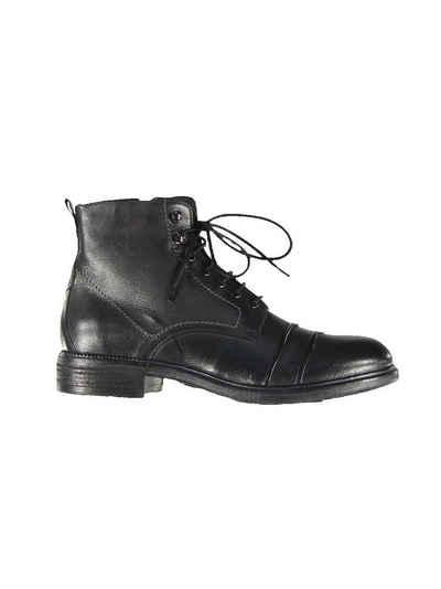 emilio adani »Boots mit Micro-Fleece-Futter« Schnürboots