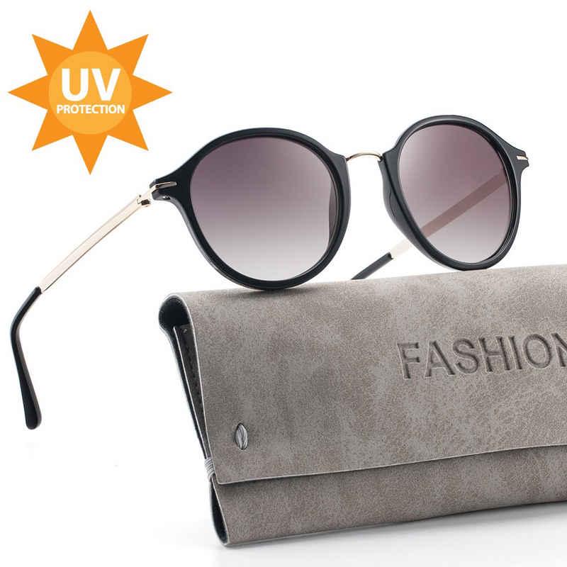 ilikable Retrosonnenbrille »ilikable Retro Vintage Sonnenbrille, Klassische Brille UV400 Schutz Modestil mit PC-Gläsern für Frauen« (Packung, 1-St., 1) UV400 Schutz