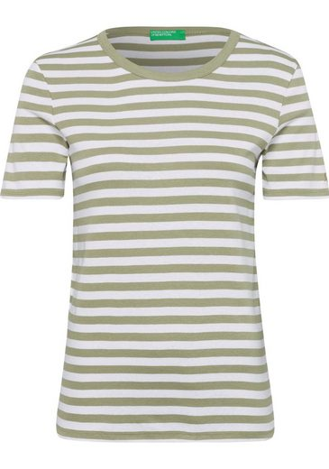 United Colors of Benetton T-Shirt mit Streifenmuster