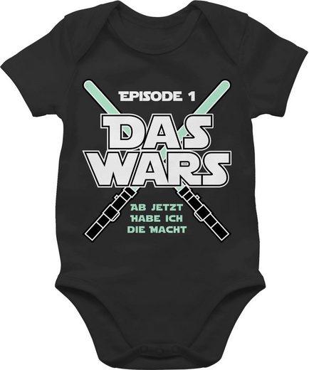 Shirtracer Shirtbody »Das Wars Jetzt habe ich die Macht Junge - Zur Geburt - Baby Body Kurzarm«