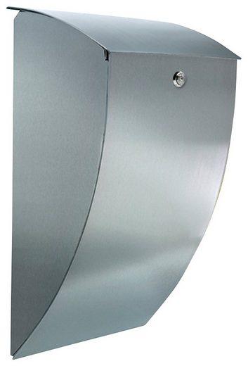 BURG WÄCHTER Briefkasten »Stahlbriefkasten mit Öffnungsstopp, Milano 3843 ES«