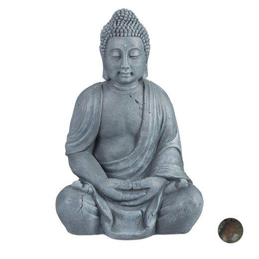 relaxdays Buddhafigur »Buddha Figur 70 cm«