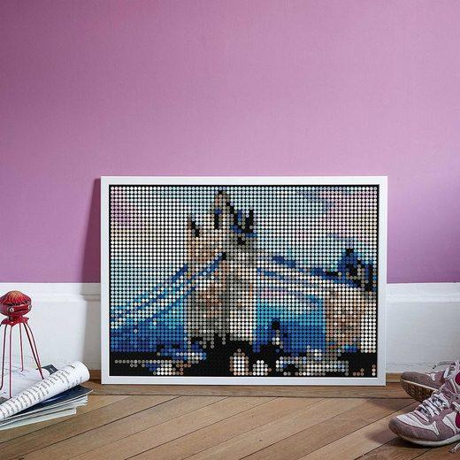 Dot On Malvorlage »dot on art XL – tower bridge, 50 x 70 cm«