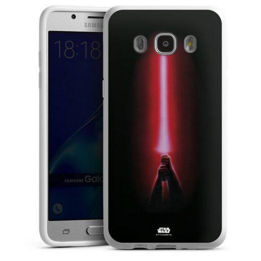 DeinDesign Handyhülle »Sith lightsaber - Star Wars« Samsung Galaxy J5 (2016), Hülle Fanartikel Laserschwert Star Wars