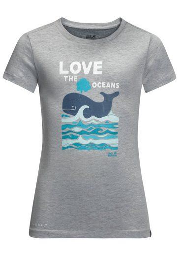 Jack Wolfskin T-Shirt »OCEAN T KIDS«