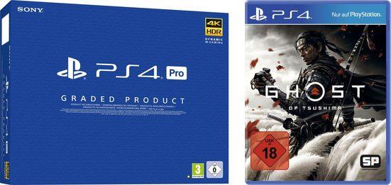 PlayStation 4 Pro, generalüberholt + Ghost of Tsushima